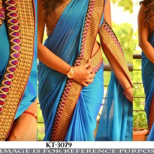 Chiffon Saree Exporters India