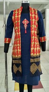 Embroidery Jacket Kurti