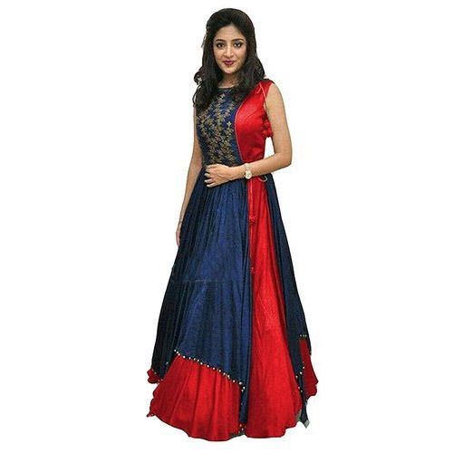 Indo Western Long Gowns