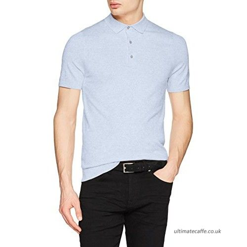 Knitted Men's Polo Shirt
