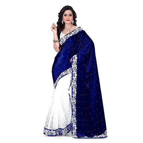 Ladies Velvet & Net Saree