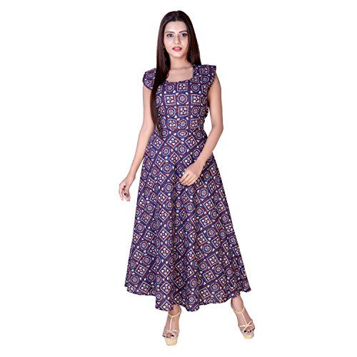 Ladies Rayon Long Dress