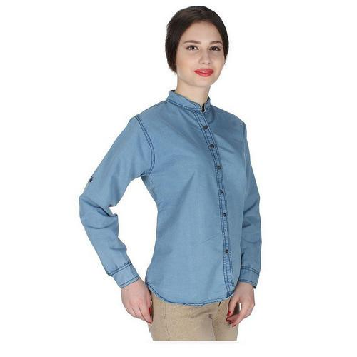 b715fc1afe Ladies Denim Shirt Suppliers - Wholesale Manufacturers and Suppliers ...