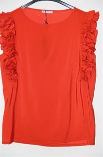 Handle Frilly Blouse
