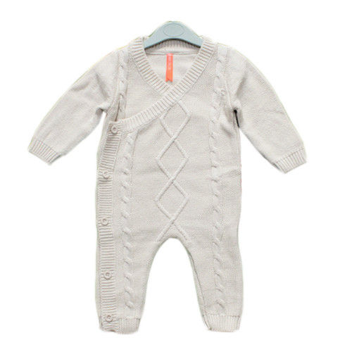 Cotton Knitted Rompers