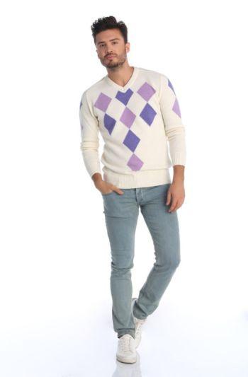 Mens Plus Size Fancy Sweater