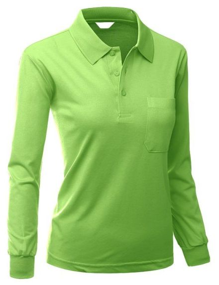 Womens Daily Wear Polo Shirt