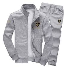 Full Grey Track Suit