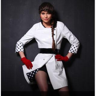 Leather Overcoat For Women