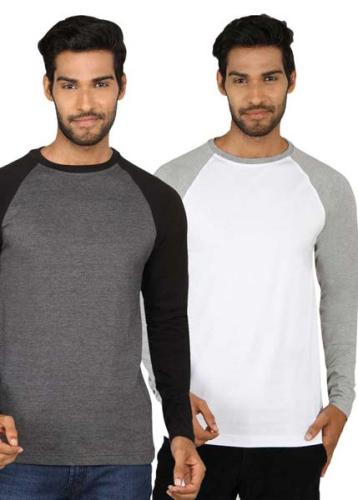 Men's Henley Knitted T-Shirt