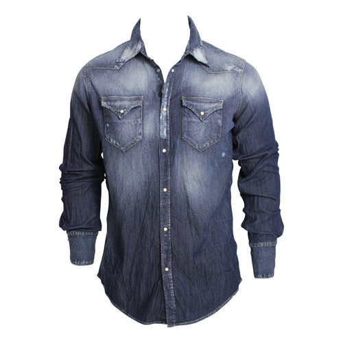 Denim Fabric Shirt For Men