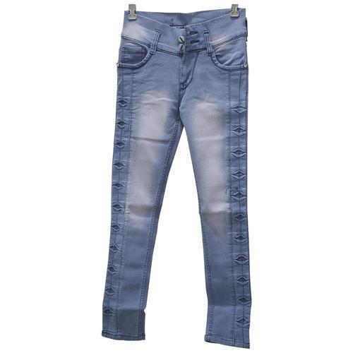 Denim Trouser For Women