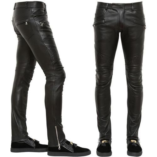 Leather Trouser For Mens