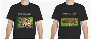Men's Black Cotton T-Shirts Exporter