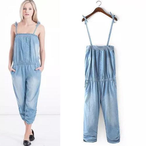 Ladies Denim Jump Suit Exporter