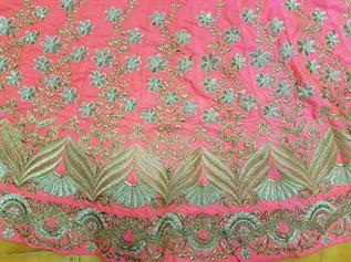 Free Size Designer Lengha Choli