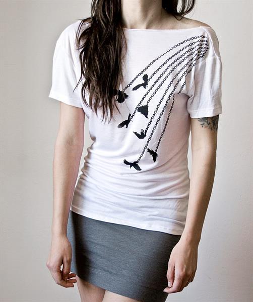 Ladies Printed T-Shirt