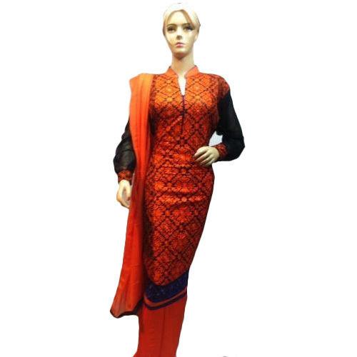 Half Stitched Salwar Suits