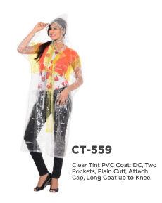 Ladies PVC Raincoat