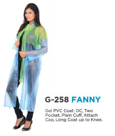 Ladies Rain Wear Coat