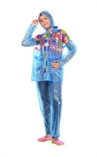 Kids Printed PVC Raincoat