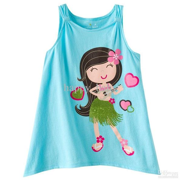 Kids Printed Tank Top