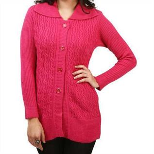 Ladies Woven Sweater