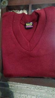 V Neck School Uniform Sweater