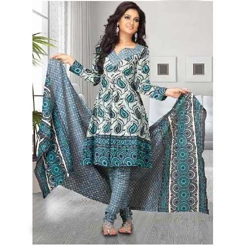 Ladies Printed Salwar Suit Suppliers - Wholesale