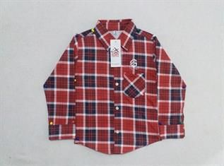 Kids Full Sleeve Check Shirt