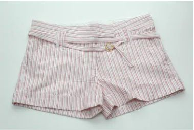Women's Stripe Shorts