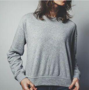 Women's Plain Sweatshirts