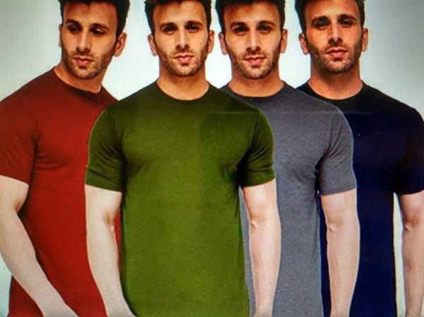 Men's Plain T-Shirts