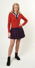 Ruffle Tie Skirt