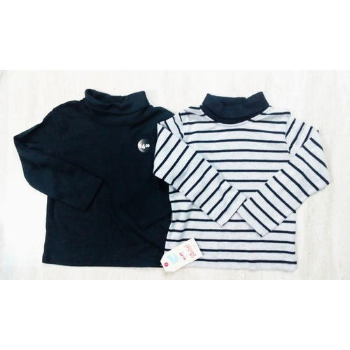 Kids High Neck T-Shirts