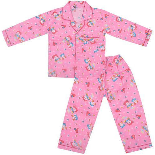 Printed Kids Night Suits