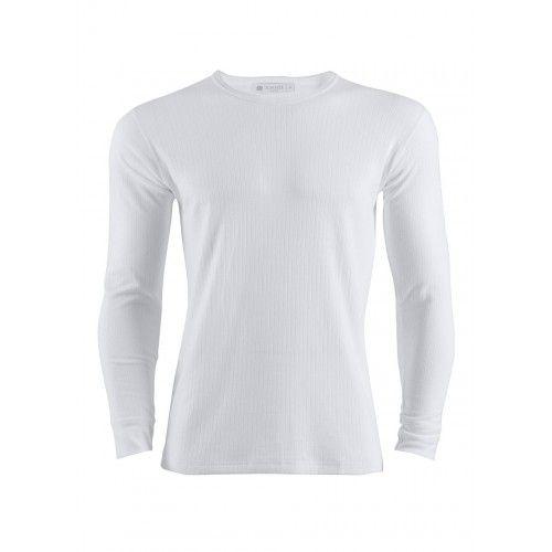 Men's Long Sleeve White T-Shirt