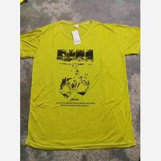 Men's Printed Round Neck T-Shirt