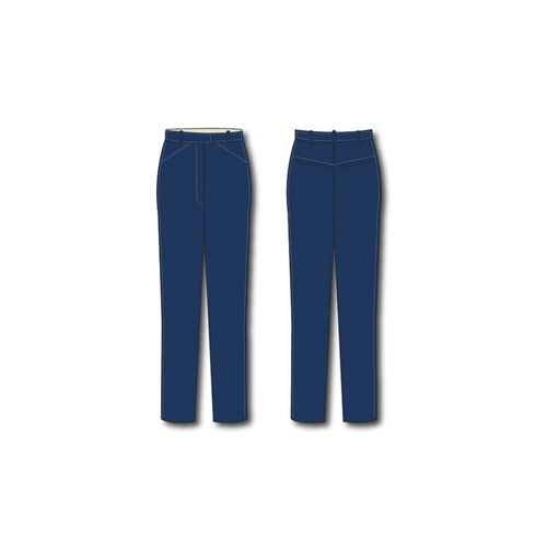 Ladies Straight Leg Trousers