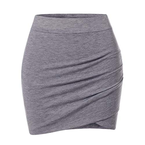 Ladies Slim Cut High Waist Skirts
