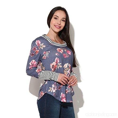 Ladies Printed Full Sleeve Tops