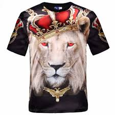 Men's Sublimation Digital Print T-shirts