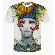 Ladies Sublimation Digital Print T-shirts