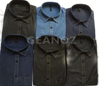Men's Denim Wear Shirt