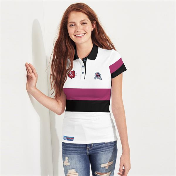 Ladies Stylish Polo Shirt