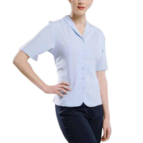 Ladies Plain Tailored Shirts