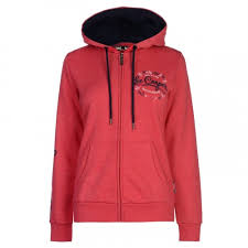 Ladies Hoodies with Front Zip