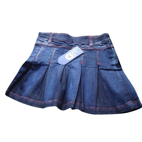 Girls Denim Skirts