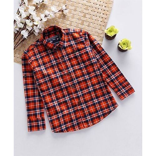 Kids Full Sleeve Shirt