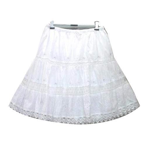 Ladies Polyester Skirts